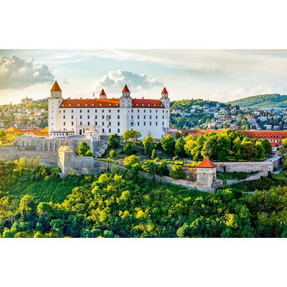 Städtetrip Bratislava mit Stadtführung für 2 (3 Tage)
