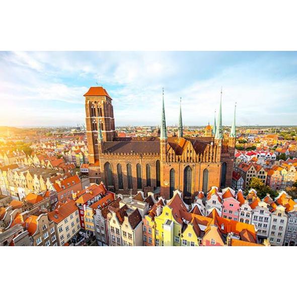 Städtetrip Danzig mit Stadtführung für 2 (3 Tage)