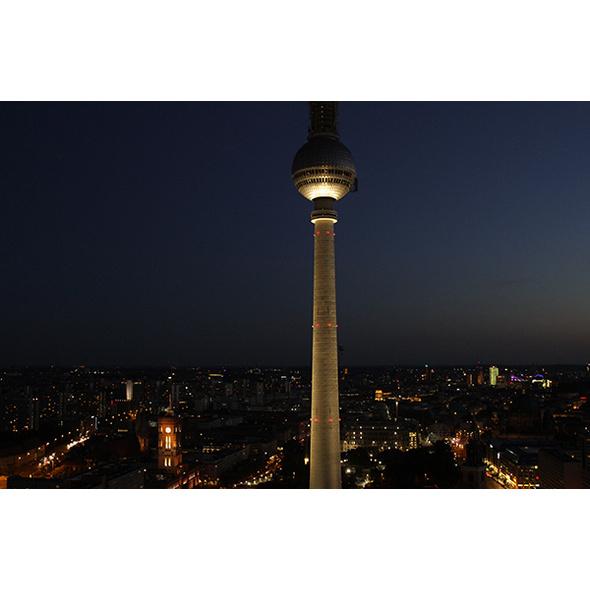 Dinner & Fernsehturm bei Nacht Berlin für 2