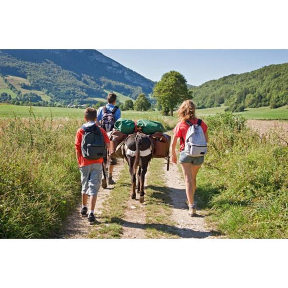 GPS Eselwanderung für Familien im Sauerland