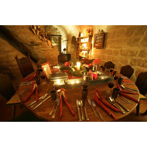 Historisches Dinner auf Festung Koenigstein für 2