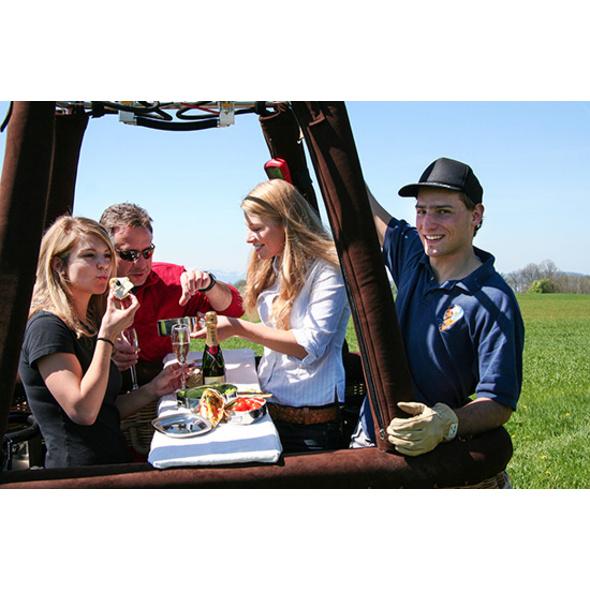 Gourmet-Picknick im 7. Himmel für 2