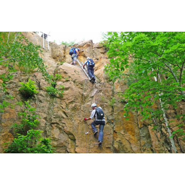 Klettersteig & Kletterkurs für Einsteiger Raum Heidelberg