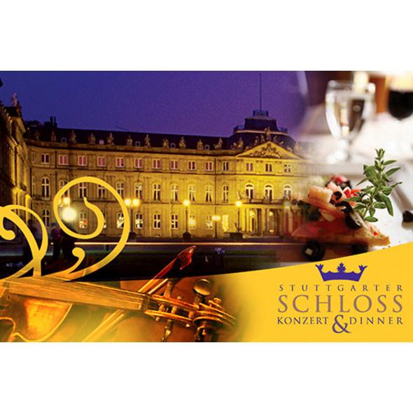 Konzert-Dinner für 2 im Schloss Stuttgart
