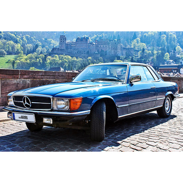 Mercedes 280 SLC Sportcoupé fahren in Heidelberg (3 Std.)