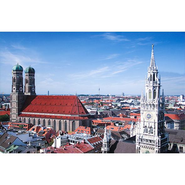 Kurztrip München mit Altstadt- & Viktualienmarkt-Tour für 2 (2 Tage)