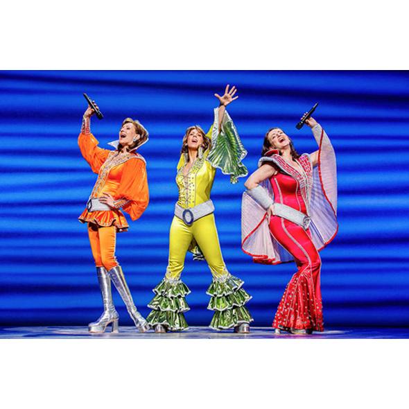 Musical Mamma Mia & Dinner Berlin für 2