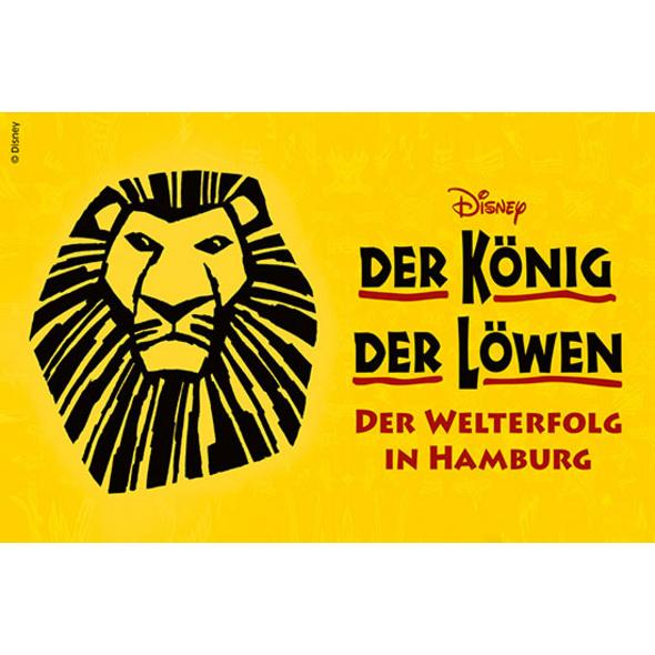 Koenig der Loewen mit Übernachtung in Hamburg  für 2 (2 Tage)
