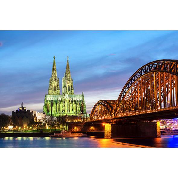 Candle Light Dinner & Fackel-Stadtführung Köln für 2