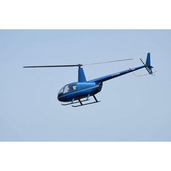 Hubschrauber-Rundflug über Dresden