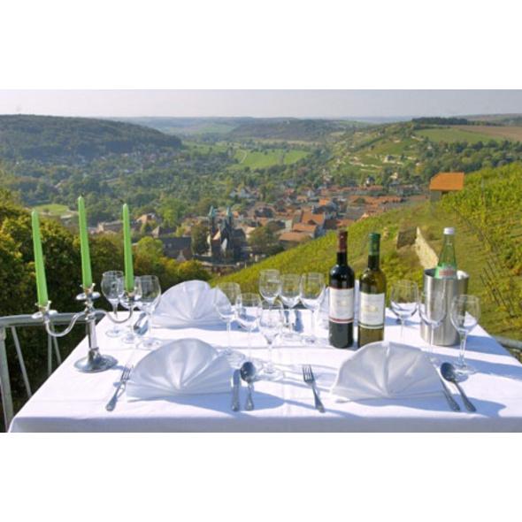 Weinverkostung mit Übernachtung in Freyburg für 2