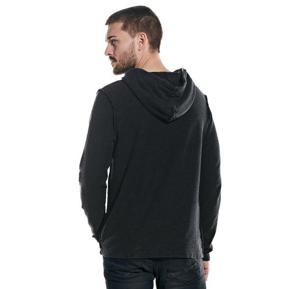 Langarm-Shirt mit Kapuze