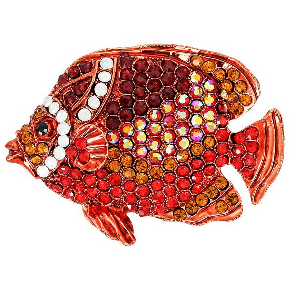 Brosche – Red Fish