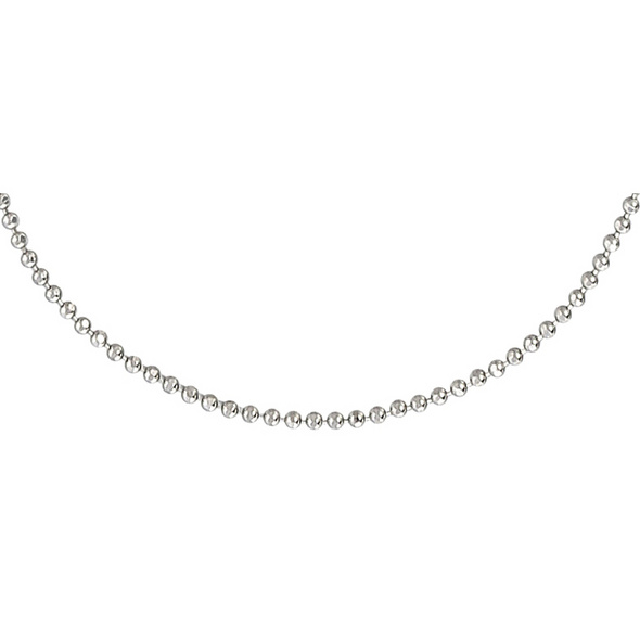 Kette - Rhodium Plated