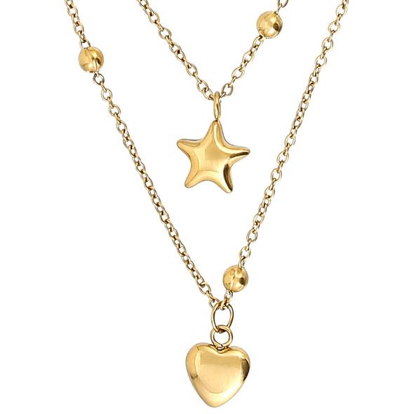 Kette - Golden Star