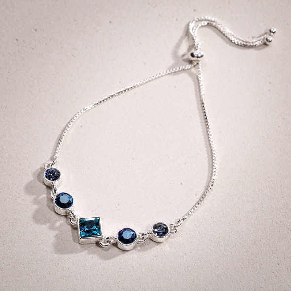 Armband - Blue Crystals