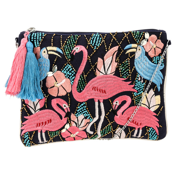 Handtasche - Lovely Flamingo