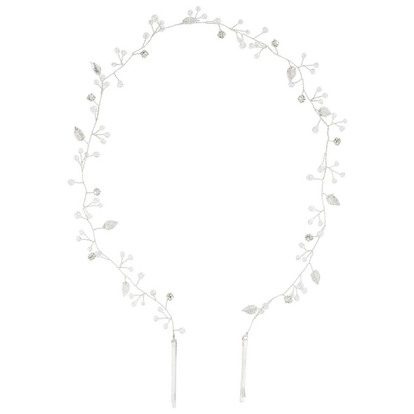 Haarklammer - Silver Petal
