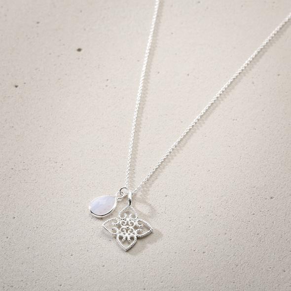 Kette - Silver Lotus Friend