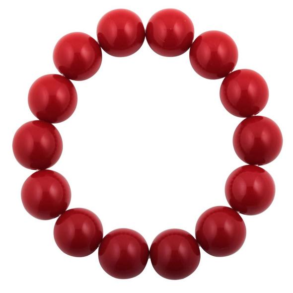 Armband - Perlen Rot