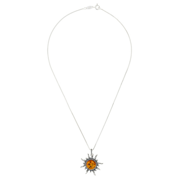 Kette - Amber Sun