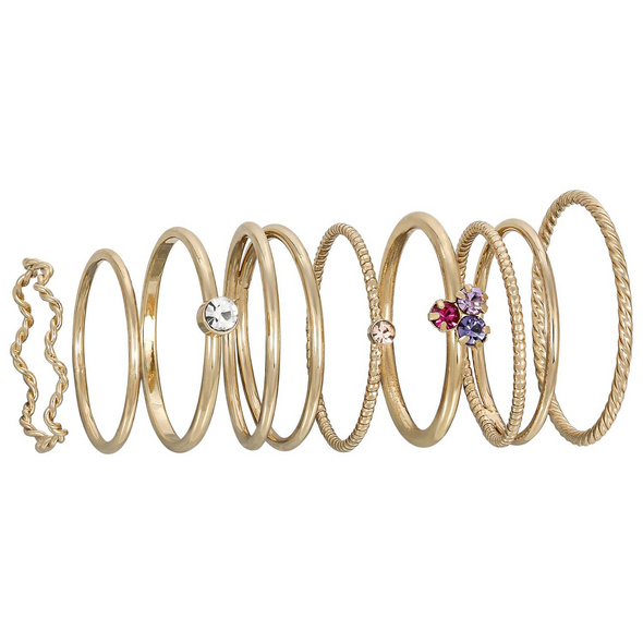 Ring-Set - Gold Variation