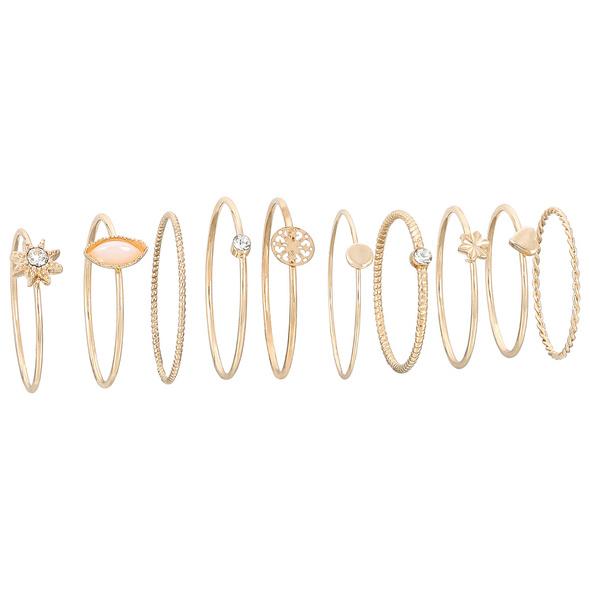 Ring-Set - Golden Vintage