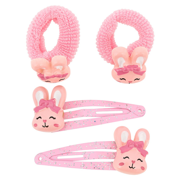 Kinder Haarschmuck-Set - Friendly Rabbits