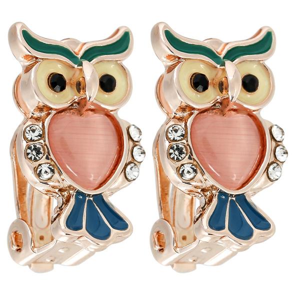 Ohrclips - Suspicious Owl