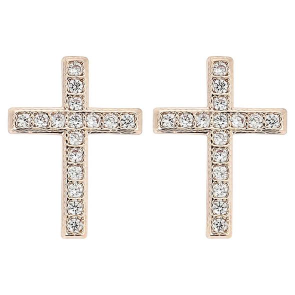 Ohrstecker - Shiny Cross