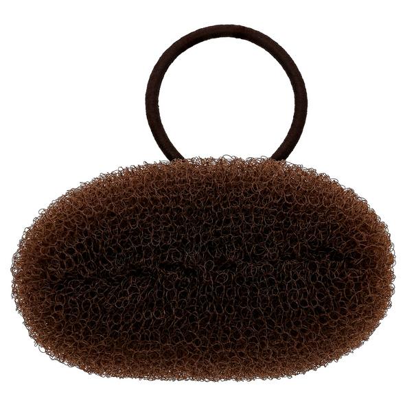 Haargummi - Brown Bun