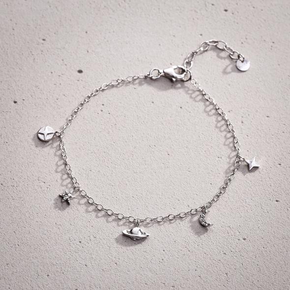 Armband - Silver Ufo