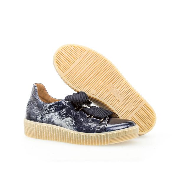 Sneaker low Lackleder