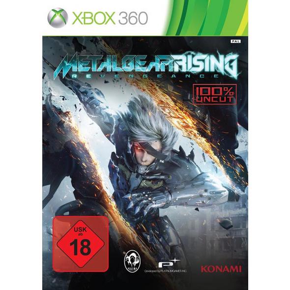 Konami Metal Gear Rising Revengeance (100% UNCUT)