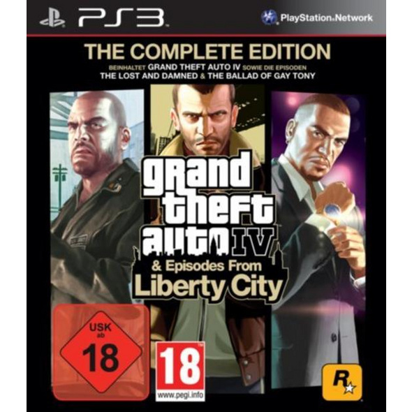 Grand Theft Auto 4 Complete Edition