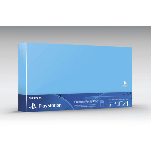 PS4 HDD Cover blue