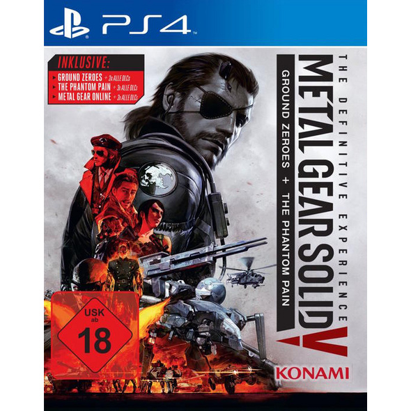 Konami Metal Gear Solid 5: The Definitive Experience