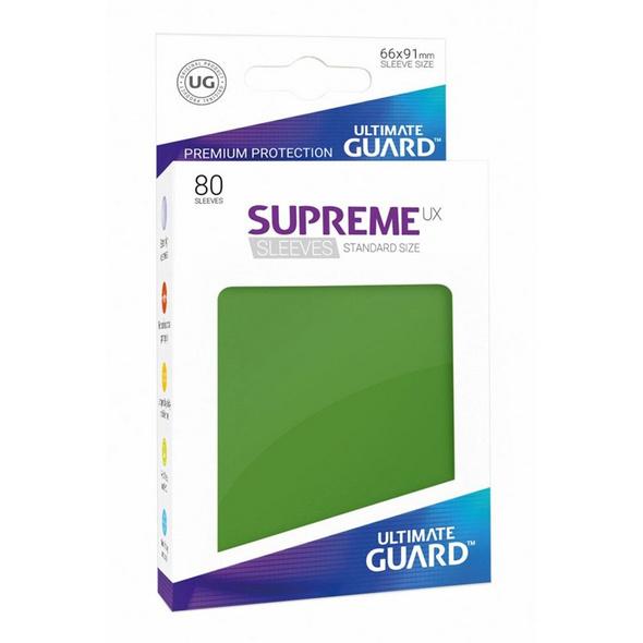 Ultimate Guard: Supreme UX Sleeves Standardgröße Grün