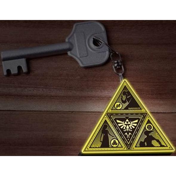 The Legend of Zelda - Schlüsselanhänger Triforce Logo