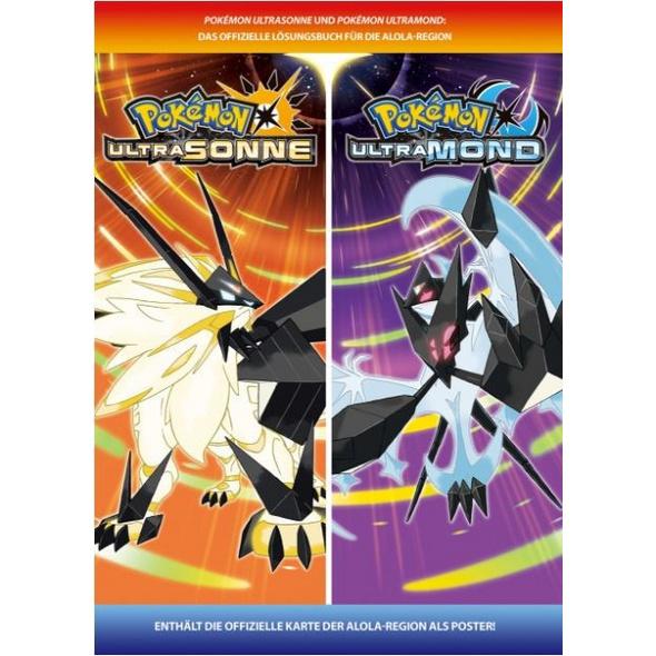 Pokémon Ultra Sonne / Mond - das offizielle Lösungsbuch