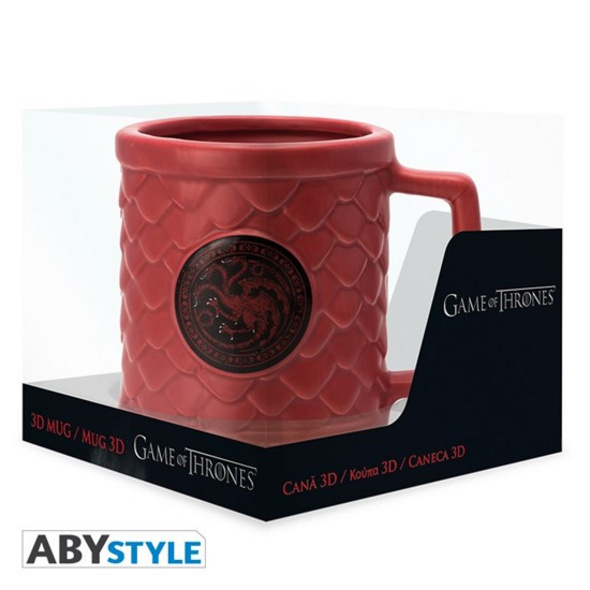 Game of Thrones - Tasse Targaryen 3D