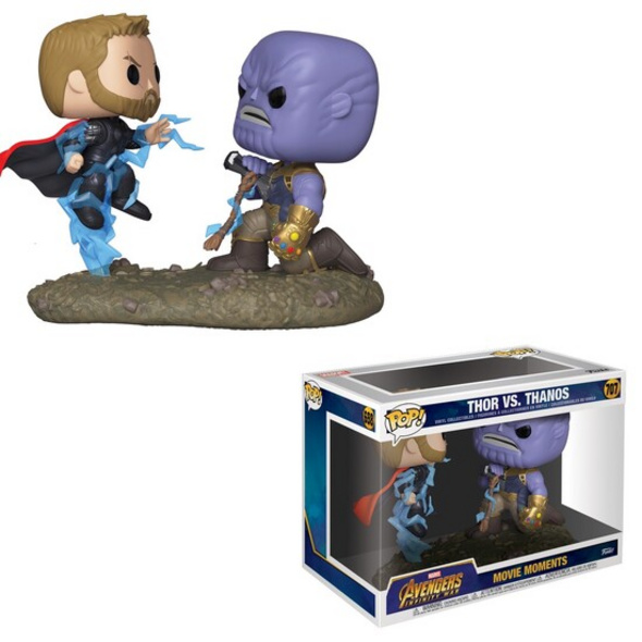 Marvel - POP!-Vinyl Figur Thor vs. Thanos