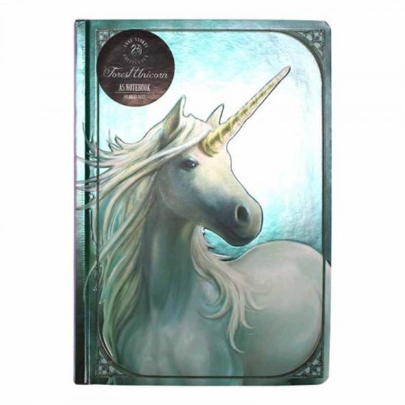 Anne Stokes - Notizbuch A5 Forest Unicorn