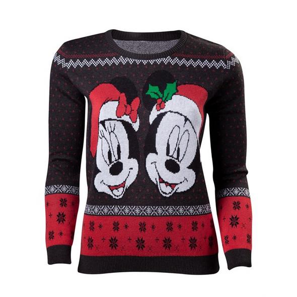 Mickey Mouse - Pullover Xmas (Größe M)
