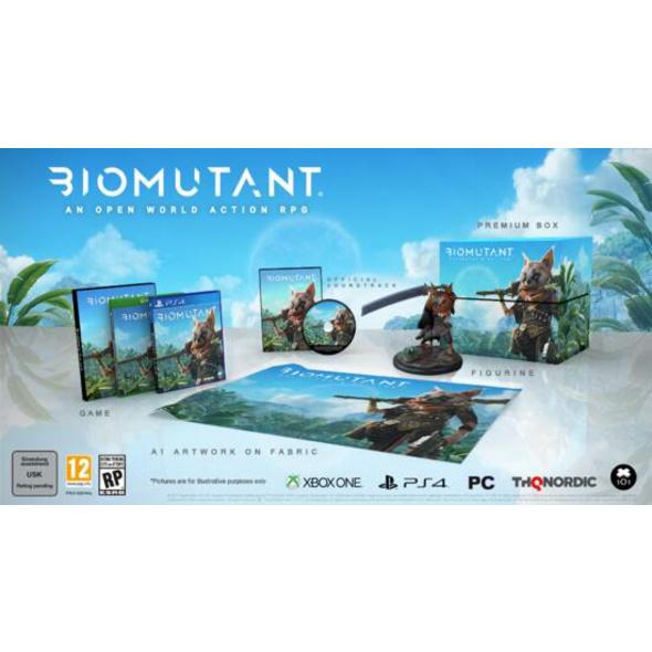 Biomutant Collectors Edition