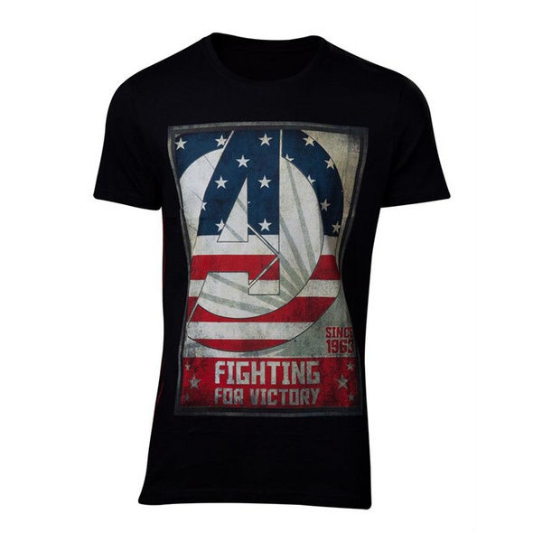 Avengers - T-Shirt Fighting for Victory (Größe S)