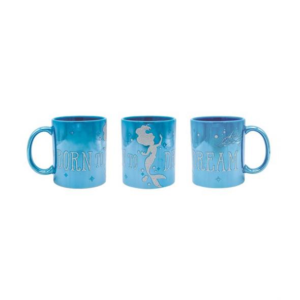 Disney Arielle die Meerjungfrau - Tasse Born to Dream (Glitter)