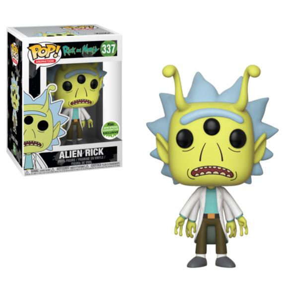 Rick and Morty - POP! Vinyl-Figur Alien Rick