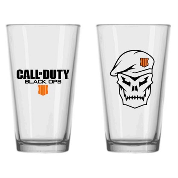 Call of Duty - Glas Black Ops 4 Totenkopf