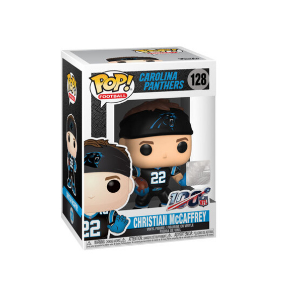 NFL - POP!-Vinyl Figur Panthers ChrisMcCaffrey